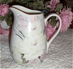 Click here to enlarge image and see more about item 111404L: Hand Painted Pitcher