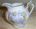 Click here to enlarge image and see more about item 111404P1: Lilac Pitcher