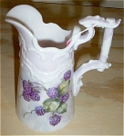 Click here to enlarge image and see more about item 111404W: Grape Pitcher