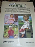 Click here to enlarge image and see more about item 111503E: HC Book Making Childrens Clothes ~ Sue Locke