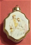 Click here to enlarge image and see more about item 112503A: HP NATIVITY  Christmas Porcelain Ornament