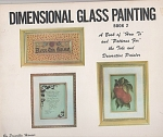 Click here to enlarge image and see more about item 113A: DIMENSIONAL GLASS PAINTING~ PRISCILLA. HAUSER