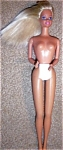 Click here to enlarge image and see more about item 122505M6: BARBIE TWIST WAIST 1976 DOLL SUN LOVIN MALIBU