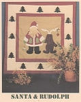 Click here to enlarge image and see more about item 124: WORKS OF HEART~SANTA & RUDOLPH~OOP