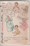 Click here to enlarge image and see more about item 1406: 1955VINTAGE~20 IN~ DOLL CLOTHES~Betsy Wetsy~