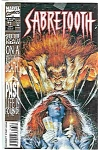 Click here to enlarge image and see more about item 1790: Sabretooth - Marvel comics - Sept.. # 2 1993