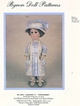 Click here to enlarge image and see more about item 204: BYRON PATTERN 204 ~ 14 IN DOLL OUTFIT