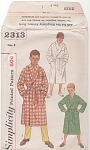 Click to view larger image of VINTAGE~BOYS ROBES~SZ 8~3 STYLES (Image1)