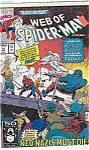 Click here to enlarge image and see more about item 2550: Web of Spider-Man - Marvel comics - # 72 Jan. 1991