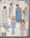 VINTAGE~CHILDS' ROBE NIGHTGOWN~PJ'S~ OOP~SZL