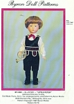Click here to enlarge image and see more about item 282: BYRON BOY PATTERN 282 13 3/4 IN DOLL