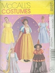 Click here to enlarge image and see more about item 2856: McCALLS COSTUMES FOR THE YOUNG GIRL 4~6
