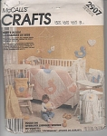 VINTAGE~INFANT NURSERY ENSEMBLE~QUILT etc OOP