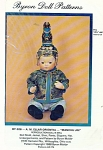 Click here to enlarge image and see more about item 306: BYRON ORIENTAL BABY PATTERN 12 3/4 IN DOLL