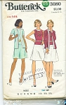 BUTTERICK PATTERN #3080 Miss size 12