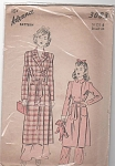 VINTAGE~ADVANCE~BATHROBE PATTERN~GIRLS SZ 6