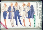 Click here to enlarge image and see more about item 3154P: BUTTERICK LADIES WARDROBE EASY 3154