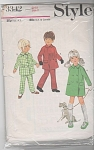 Click to view larger image of STYLE PATTERN~VINTAGE~COAT~TROUSERS~SZ 2 (Image1)