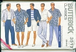 Click here to enlarge image and see more about item 3517: VINTAGE BUTTERICK MENS CLASSICS 3517