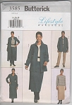 Click here to enlarge image and see more about item 3585: BUTTERICK 3585~EASY PLUS SIZE WARDROBE~14-18