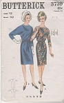 VINTAGE BUTTERICK~1 PC DRESS~SIZE 12