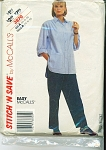 VINTAGE~EASY~McCALL'S STITCH'N SAVE BLOUSE