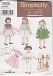 Click here to enlarge image and see more about item 3929-1932: AMERICAN GIRL~DOLL~OUTFITS~3929~REPRINT 2006