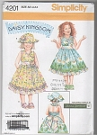 DAISY KINGDOM PATTERN-GIRLS SUNDRESS-sz 3-6