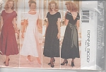 Click here to enlarge image and see more about item 4258P: VINTAGE 1995 DONNA RICCO FORMAL DRESS 4258