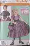 DAISY KINGDOM~DRESS~PURSE~CAPELET~SZ 5-8