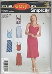 MISSES~Bias Skirt TopS~OOP~SZ 6-16~4526~UNCUT