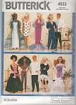 Click here to enlarge image and see more about item 4533: BARBIE WARDROBE BUTTERICK 4533