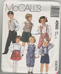 McCall's~SZ 5~BOYS & GIRLS OUTFITS~4565~OOP