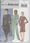 Butterick 4618~Classic~Jacket~Skirt~Pants~OOP