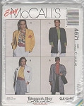 Click to view larger image of VINTAGE~UNLINED~MISSES JACKET~OOP~1990 (Image1)