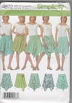 NEW~Trendy Asymmetrical Skirts~5 STYLES~12-20