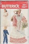 Click here to enlarge image and see more about item 4687: VINTAGE BUTTERICK DOLL PATTERN~4687~BARBIE