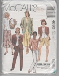 MCCALLS 4690~SEPERATES PATTERN~SZ. 14~OOP