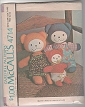 Click here to enlarge image and see more about item 4714: McCALLS~BEAR FAMILY AND CLOTHES~PATTERN 4714