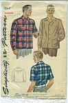 Click to view larger image of VINTAGE SIMPLICITY MENS SHIRT 4884 (Image1)