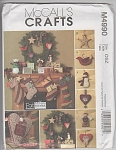 Click here to enlarge image and see more about item 4990: McCALL'S CHRISTMAS ~MADE FROM FAT QUARTERS