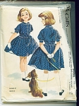 McCalls Vintage 1959 GIRLS DRESS PATTERN SZ8