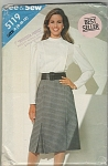Click to view larger image of SEE & SEW ~SZ: A(8-10-12) ~BLOUSE~SKIRT~5119 (Image1)