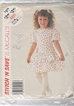 VINTAGE~McCALLs~DRESS~STITCHnSAVE~5221