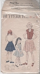 Vintage 40's Girl's 3 pc Ensemble Flare Skirt