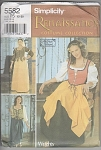 Click here to enlarge image and see more about item 5582: SIMPLICITY~RENAISSANCE OUTFITS~SZ12-20~UNCUT