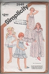 Click to view larger image of VINTAGE~5949~GIRLS Robe~PJ's~Baby-dolls~10-14 (Image1)
