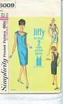 VINTAGE~SIMPLICITY~JIFFY-DRESS~SZ14~