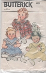 VINTAGE~ Pattern~ADORABLE~ Infants~DRESS~SZ~N