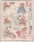 INFANTS LAYETTE~DOLLS~VINTAGE 1961~OOP